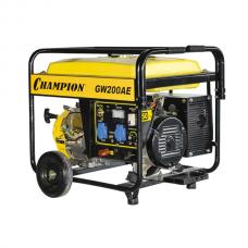 Бензиновый генератор Champion GW200AE функция сварки