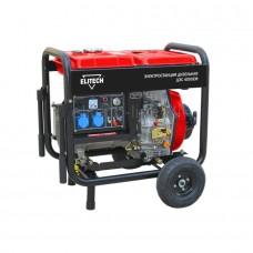 Дизельный генератор Elitech ДЭС 4000ЕМ