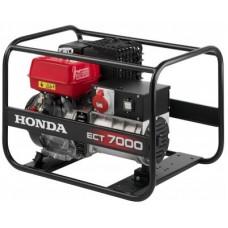 Бензиновый генератор Honda ECT 7000P