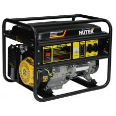 Бензиновый генератор HUTER DY6500L с ручным запуском