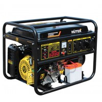 Бензиновый генератор HUTER DY8000LX-3 трехфазный 6,5 кВт