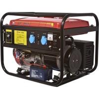 Бензиновый генератор Калибр БЭГ-5500 А с электронным запуском