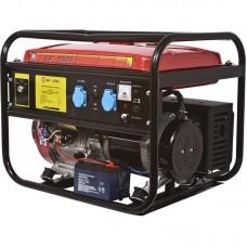 Бензиновый генератор Калибр БСЭГ-5500 А с функцией сварки
