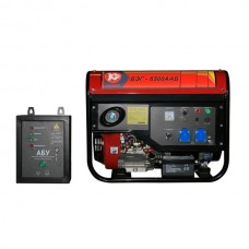 Бензиновый генератор Калибр БЭГ-6500ААБ с автоматическим запуском (AVR)