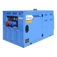 Дизельный генератор TSS SDG 10000ES3 с двигателем R2V840
