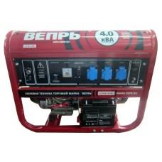 Бензиновый генератор Вепрь АБП 4-230 ВФ-БСГ ручной/электро запуск
