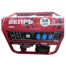 Бензиновый генератор Вепрь АБП 5-230 ВФ-БСГК ручной/электро запуск
