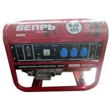 Бензиновый генератор Вепрь АБП 6-230 ВФ-БГ с ручным запуском