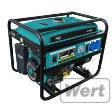 Бензиновый генератор WERT G3000D