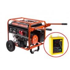 Бензиновый генератор WESTER GNB6500ATS
