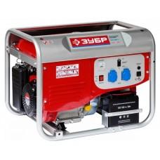 Бензиновый генератор Зубр ЗЭСБ-4000-Э с ручным и электро запуском